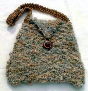 Picture of Densely Purse Knitting Pattern