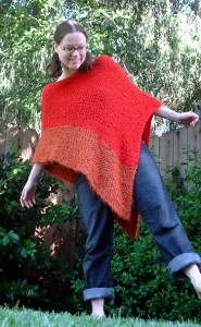 Free Poncho Knitted Pattern Pictures