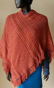 Irish Knit Poncho Pattern Images