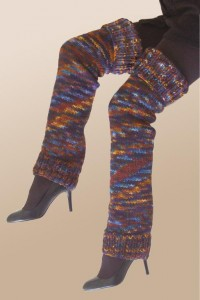 Leg Warmer Knitted Pattern Picture