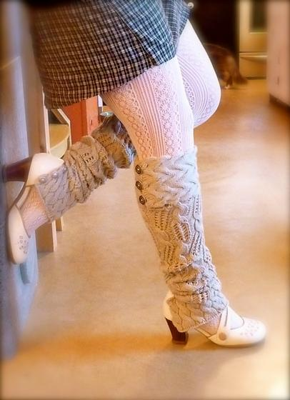 Knitting Pattern For Leg Warmers Gallery Knitting Patterns Free