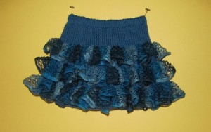 Photos of Party Ruffles Skirt Knitting Pattern
