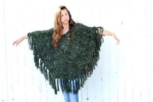 Poncho Kintted Pattern Tutorial Picture