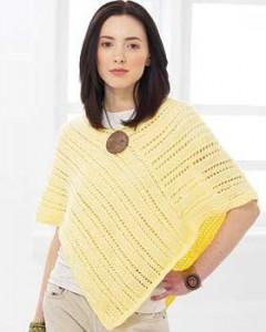 Image of Summer Poncho Knitting Pattern