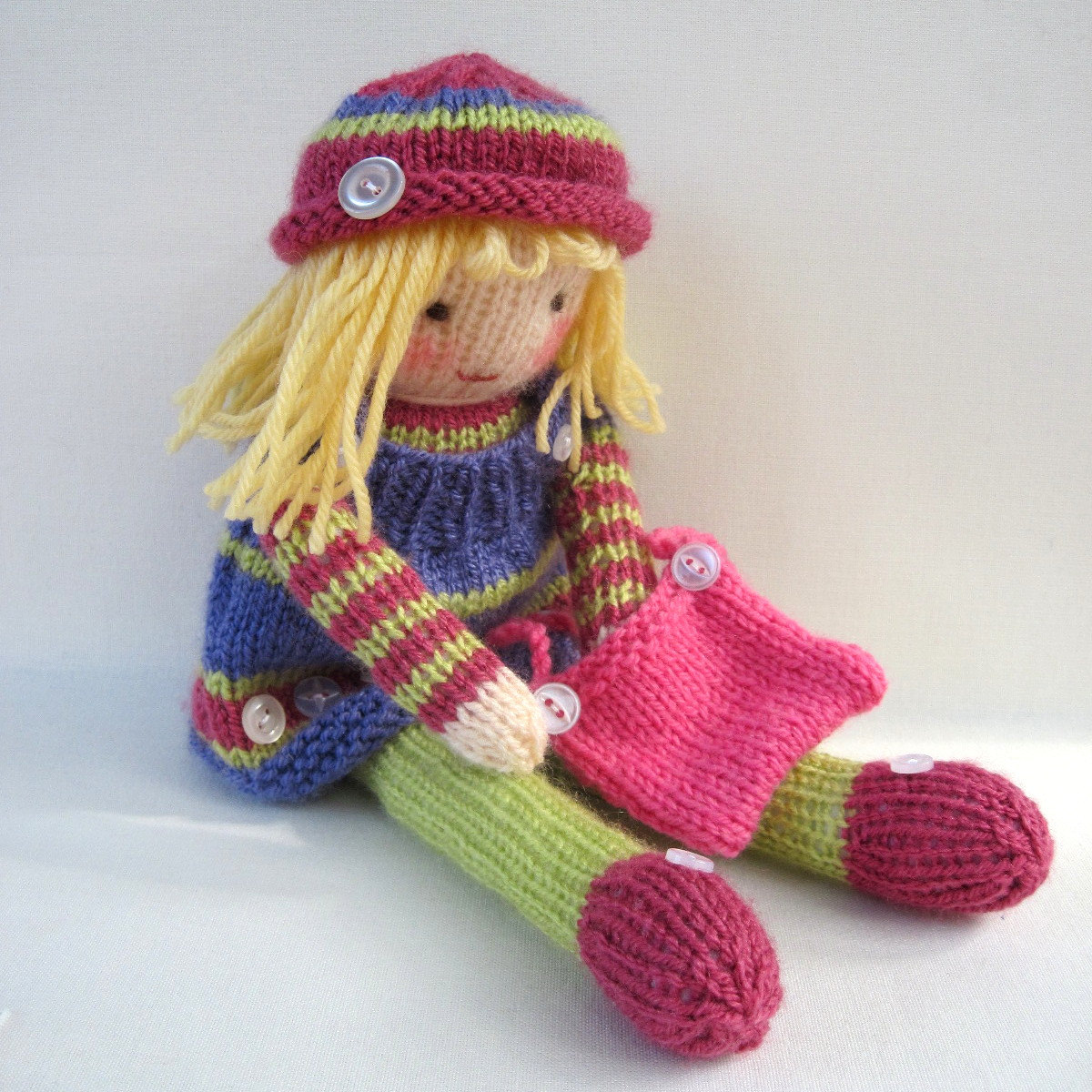 Knitted Doll Patterns | A Knitting Blog
