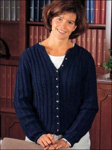 Cardigan Knitting Pattern Picture