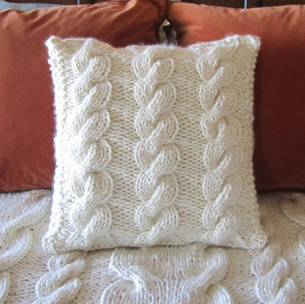 Knit Pillow Pattern Image collections - handicraft ideas home decorating