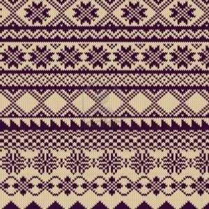 Fair Isle Knitting Design Idea Picture