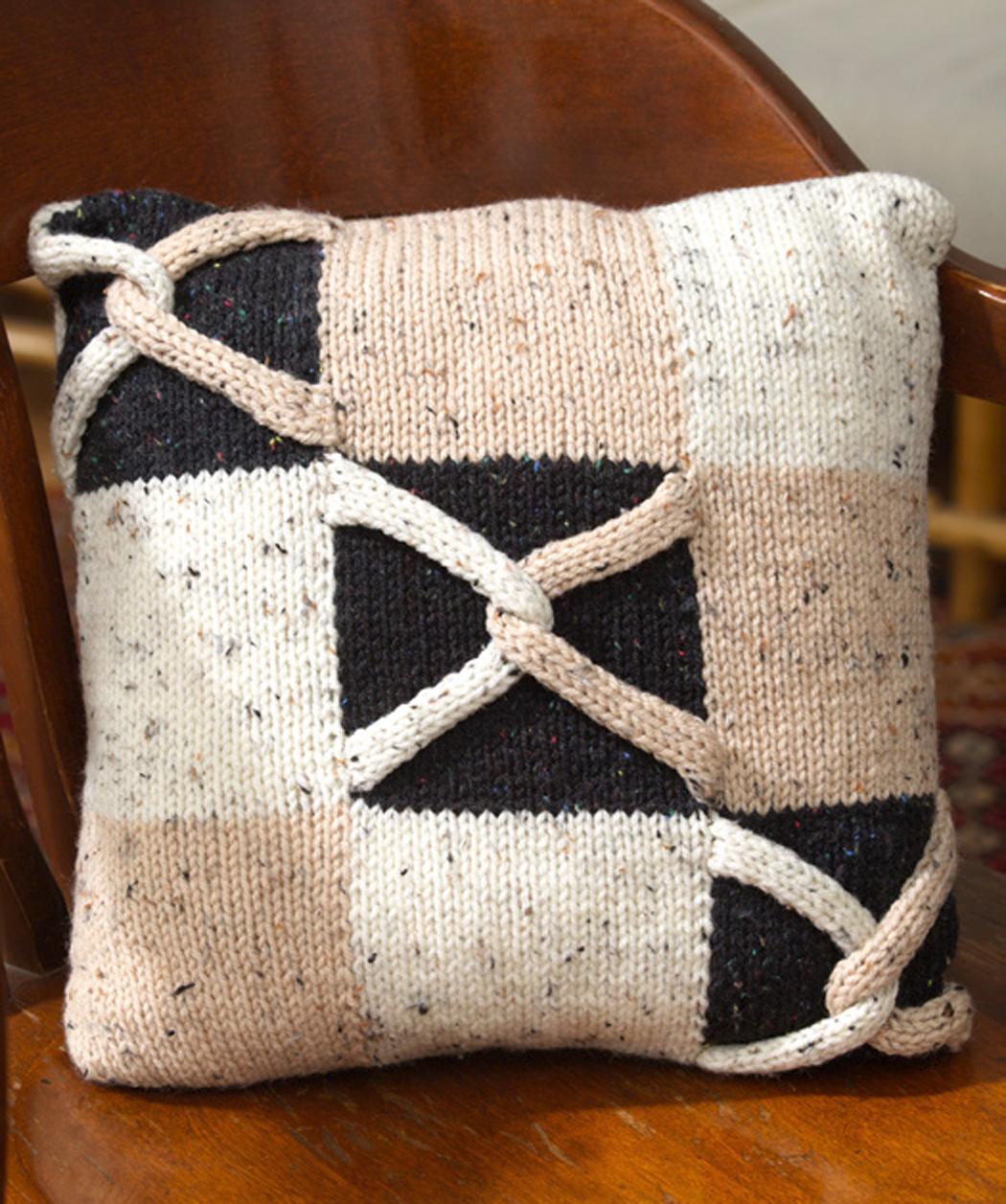 Knitted Pillow Patterns A Knitting Blog