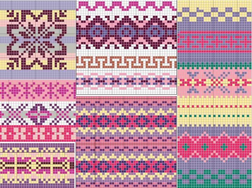 Fair Isle Knitting Patterns | A Knitting Blog