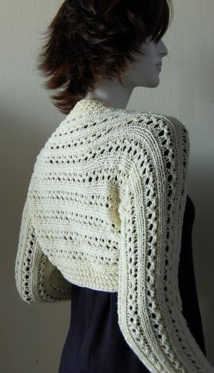 Knitted Shrug Pattern Gallery Knitting Patterns Free Download