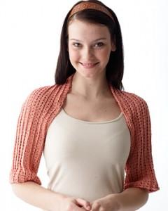 Knit Shoulder Shrug Pattern Images