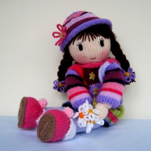 Knitted Doll Patterns Tutorial Pictures