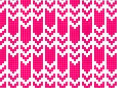 Fair Isle Knitting Pattern Photo