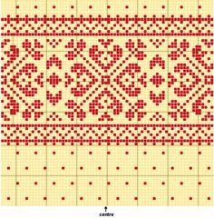 Fair Isle Knitting Pattern Picture