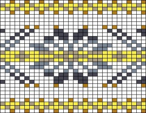 Image of Simple Fair Isle Knitting Pattern