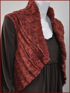 Images of Twirl Woman Shrug Knitting Pattern