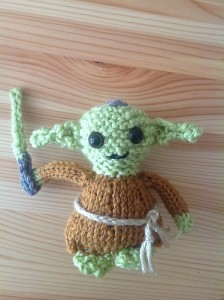 Photos of Yoda Doll Knitting Pattern