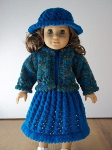 American Girl Doll Dress Knitting Pattern Picture