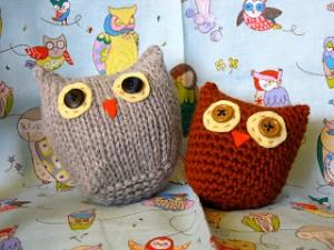 Amigurumi Owl Knitting Patterns Photos