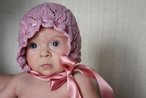 Photos Baby Bonnet Knitting Pattern