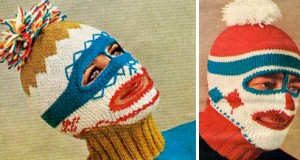 Pictures of Balaclava Mask Knitting Patterns