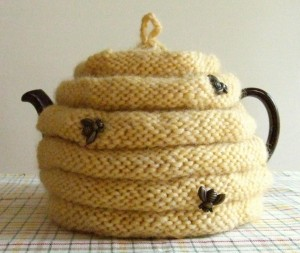 Beehive Tea Cozy Knitting Pattern Pictures