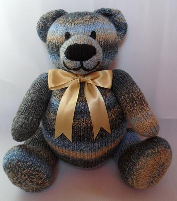 Knitted Teddy Bear Pattern Easy Image Collections Knitting