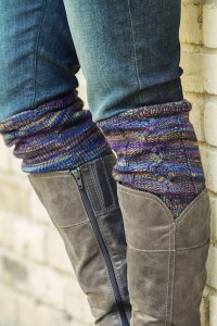 Pictures of Boots Cuff Cabled Knitting Pattern