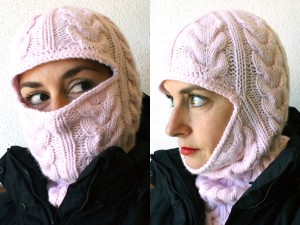 Cabled Balaclava Knitting Patterns Pictures