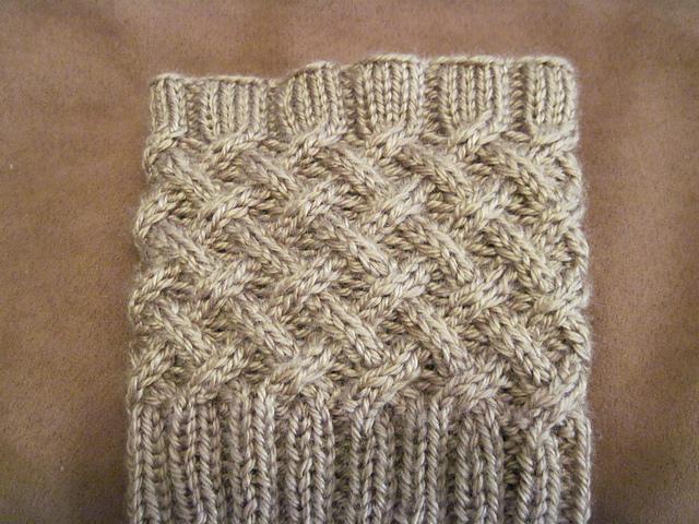 Boot Cuff Knitting Pattern A Knitting Blog