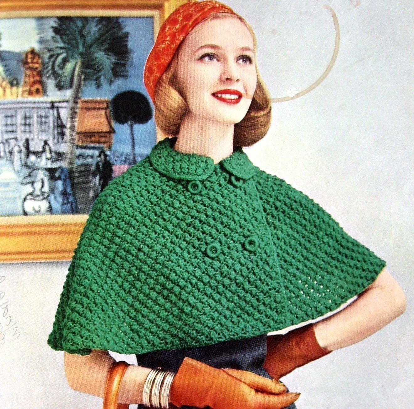 Knitted Cape Pattern | A Knitting Blog