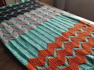 Chevron Baby Blanket Quilt Pattern Picture