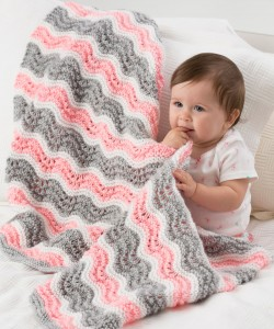 Images of Chevron Blanket Quilt Knitting Pattern