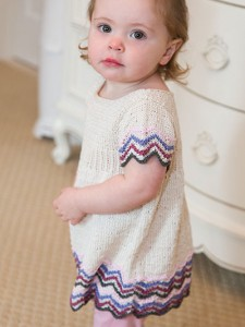 Pictures of Chevron Empire Dress Knit Pattern