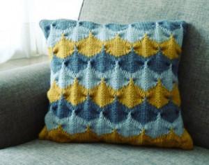 Chevron Pillows Knitting Pattern Photos