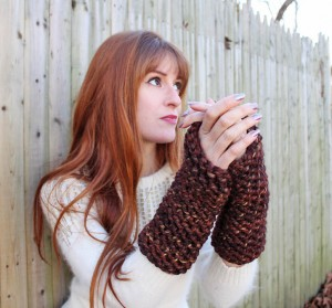 Images of DIY Arm Warmers Knitting Pattern