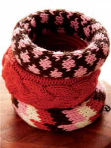 DIY Knitted Bracelet Pattern Pictures