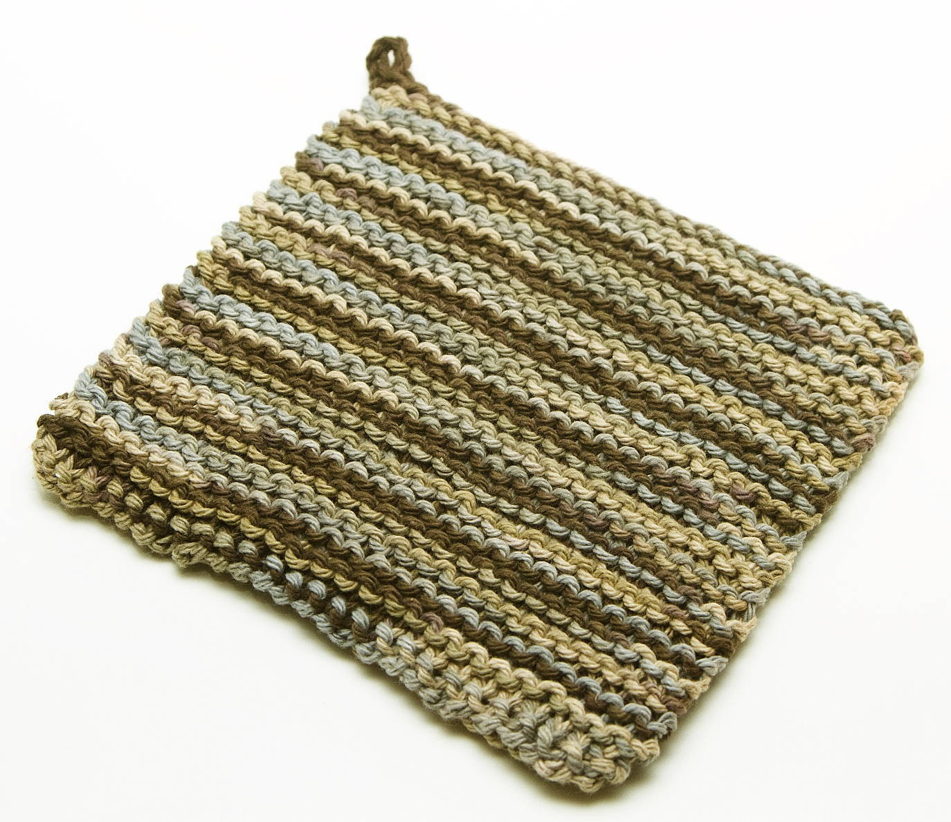 Pot Holder Knitting Pattern | A Knitting Blog