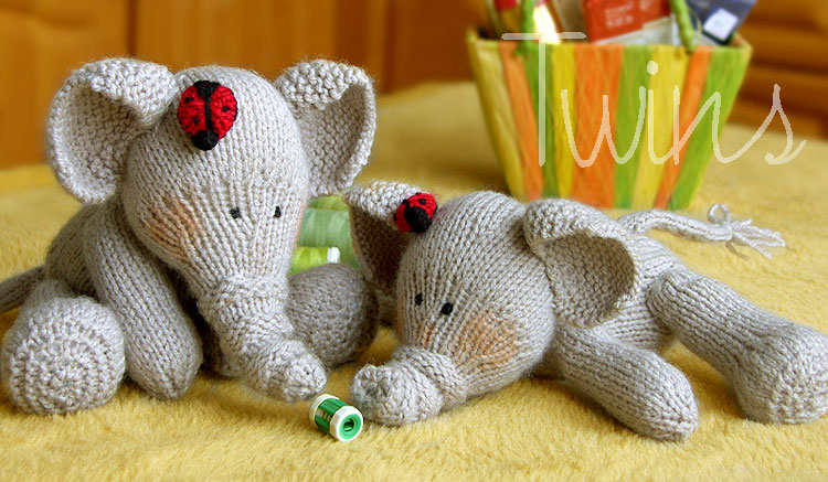 Knitted animal patterns a knitting blog elephants knitting pattern photos dt1010fo