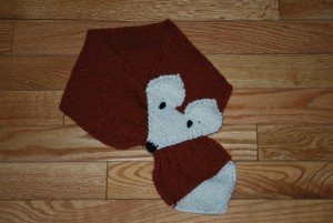 Fox Knitted Scarf Patterns Photos