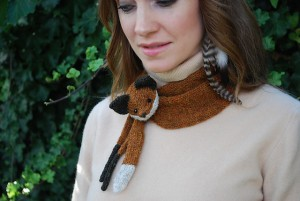 Fox Scarf Knitting Pattern Pictures