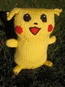 Images of Free Amigurumi Pikachu Knitting Patterns