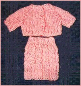 Free Barbie Doll Cardigan Sweater Knitting Pattern Pictures