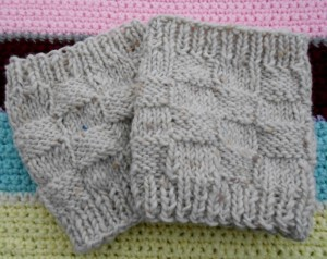Photo of Free Boot Cuff Knitted Pattern