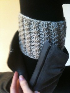 Free Boot Cuff Knitting Pattern Photos
