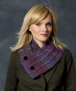 Photos of Free Button Up Neck Warmer Knitting Pattern