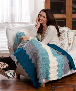 Free Chevron Quilt Knit Pattern Photos