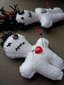 Images of Free Halloween Voodoo Doll Knitting Pattern