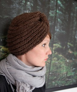 Free Knit Winter Turban Pattern Pictures